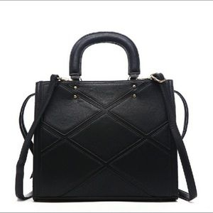 🔥NEW! Black Acacia Patchwork Bag